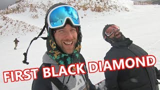 #40 Snowboard intermediate – Black diamond snowboarding