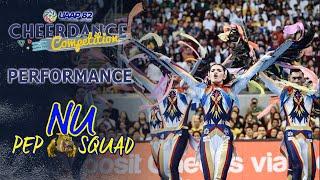 NU Pep Squad Full Performance | UAAP 82 CDC