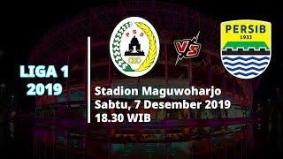 VIDEO: Live Streaming Liga 1 2019 PSS Sleman Vs Persib Bandung Sabtu (7/12) Pukul 18.30 WIB