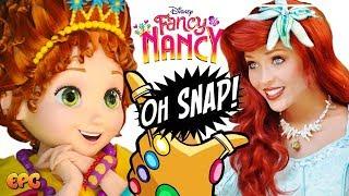 DISNEYLAND PRINCESS SNAP! Fancy Nancy Meet and Greet!