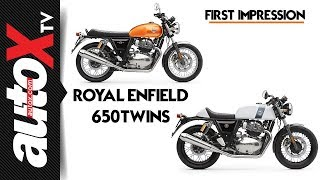 First Impressions of the Royal Enfield Interceptor 650 and GT 650 | autoX