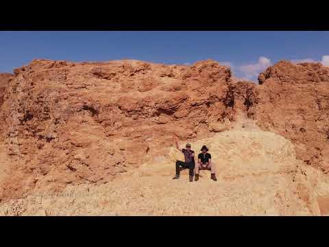 Tze'elim Stream, Dead Sea, Israel 4K UHD