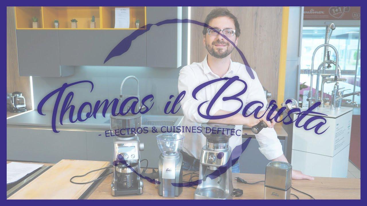 Test et comparaison des moulins à café, du moins cher au plus cher - Thomas il Barista
