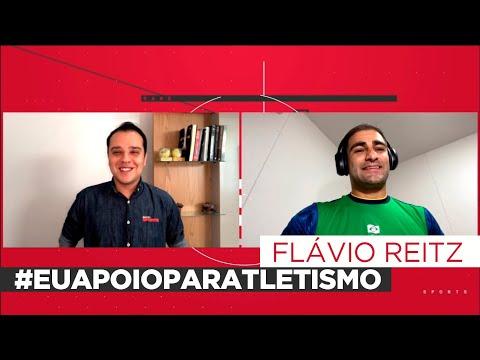FLÁVIO REITZ CONTOU PARA O REPÓRTER THIAGO KANSLER COMO FOI O INICIO NO ESPORTE