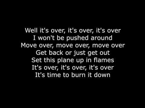 Skillet - Burn It Down (Lyrics HD) - Skillet Lyrics - Video