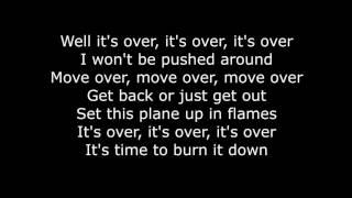 Skillet - Burn It Down (Lyrics HD)