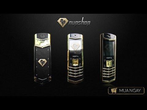 Vertu S 307 gold