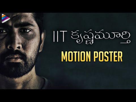 IIT Krishnamurthy Motion Poster