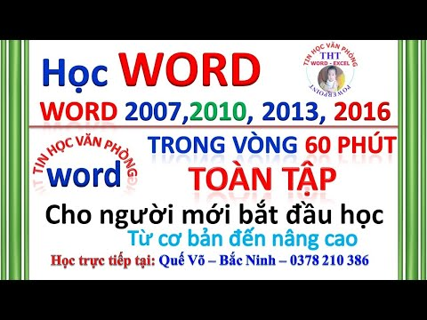 HỌC WORD