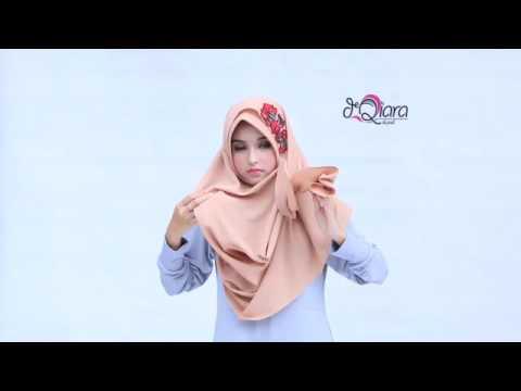 Video Tutorial Hijab TAZKIA RED