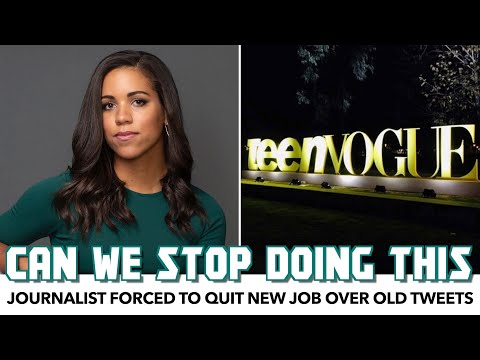 Old Tweets Force Journalist Out At Teen Vogue