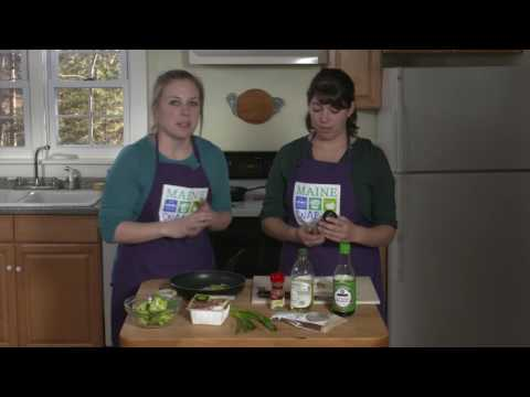 Youtube Screenshot for Tofu With Broccoli Recipe Video