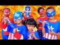 Download Video Aksi Rara Superhero Lucu  membuat es krim milo+oreo//Lagu anak anak-mainan anak