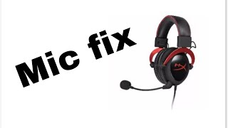 hyperx cloud 2 mic not working on discord - TH-Clip