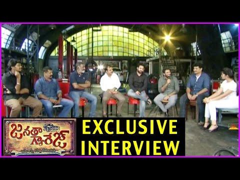 Janatha Garage Team Exclusive Interview