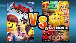 The Lego Movie Vs The Emoji Movie