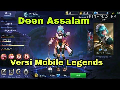 , title : 'Deen Assalam Versi Mobile Legends Moba Bang Bang Tiktok Viral'
