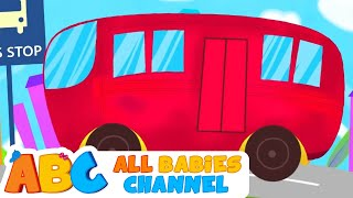 Wheels On The Bus | ABC Train Song&Lots More Nursery Rhymes | 60 Minutes Nursery Rhymes | HD |