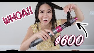 $549 DYSON Airwrap Hair Styler - Worth It? Honest Review & Unboxing (NOT SPONSORED)