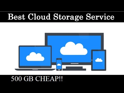 Best Cloud Storage 2017!!  500 GB for Life!!