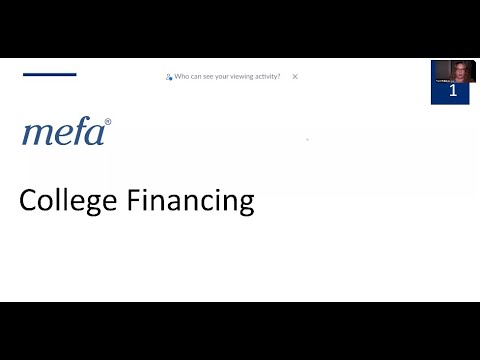 College Financing presented with the Catholic School Counselors Association