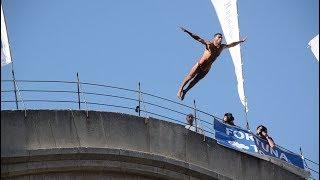 Дух захватывает: в Боснии и Герцеговине прошли соревнования по прыжкам в воду