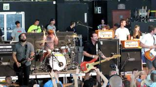 The Dangerous Summer - Where I Want To Be  HD  (live at Warped Tour 7/26/11)