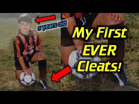 Story of My First EVER Soccer Cleats!