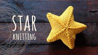 Tutorial Knitting 3D Star