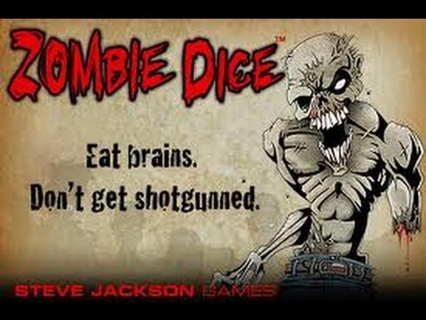 Zombie Dice 2 [Double Feature] - Board Games Everybody Should...