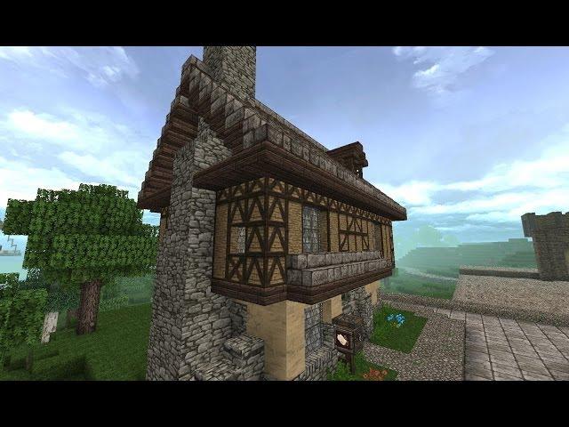 Video Lets Show Minecraft Mittelalter Fachwerkhaus Deutsch - Minecraft mittelalter haus bauen deutsch