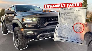 FULL TOUR OF MY $93,000 RAM TRX!!! *FIRST TIME USING LAUNCH CONTROL!*