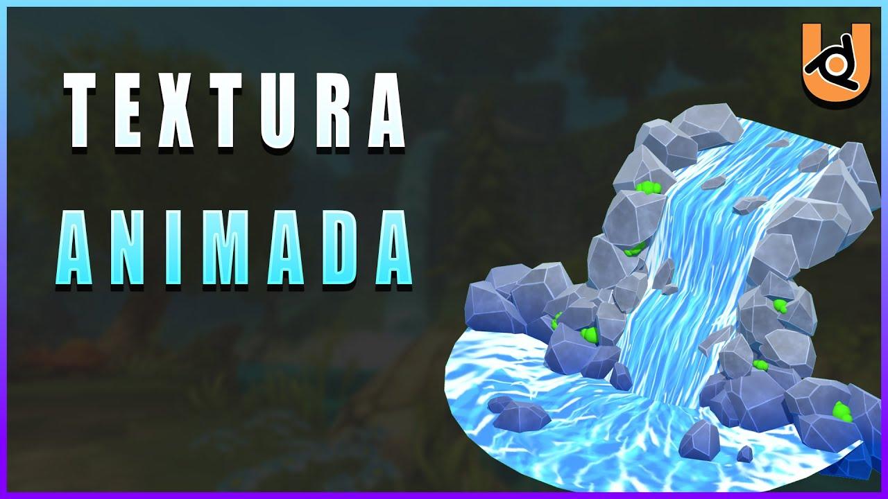 TEXTURA ANIMADA COM NODES | UPBGE (Tutorial)