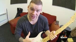 Left Hand Strung Right! - Hendrix!  Momose Custom Strat