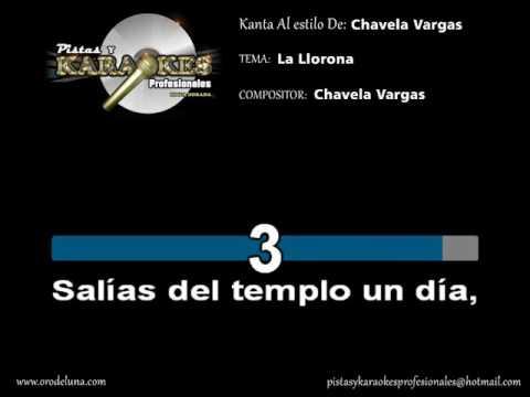 La llorona Chavela Vargas