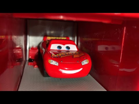 Disney Pixar Cars 3 Getting Ready Remake | Remastered Stop Motion!