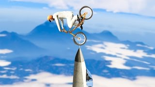BMX BIKES vs. SUPER JETS! (GTA 5 Funny Moments)