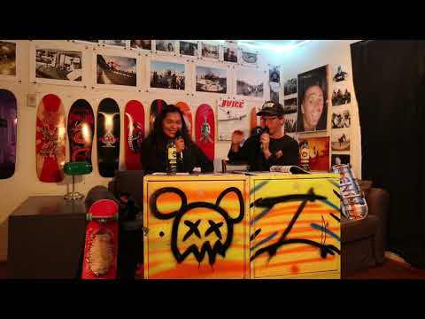 JUICE MAGAZINE Drop In with Emily Earring Skates