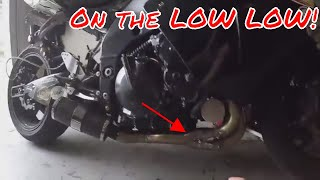 *On the Low Low* #WINNING - Zx10r Cheapest Brand name exhaust build_Yoshi Headers, D&D Muffler