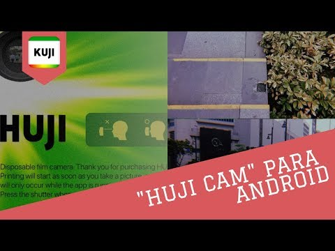 App HUJI CAM para ANDROID - KUJI: Dicas e Como Usar | Tudo
