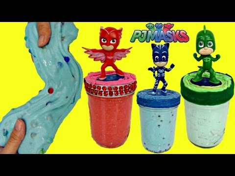 D.I.Y. Do It Yourself Pj Masks Slime Putty & Kids Craft