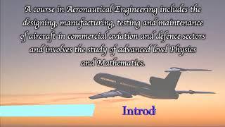 Career Options after 10th/ 12/inter: Aeronautical Engineering