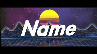 AE 80's Styled Intro - Free video search site - Findclip Net