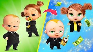 Das Boss Baby / 10 süße Puppen-Ideen