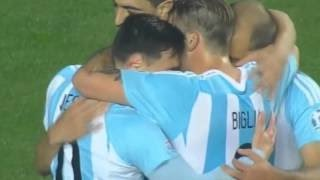 Goal Gonzalo Higuain Argentina vs Paraguay 6-1 Copa America 2015