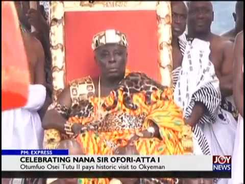 Celebrating Nana Sir Ofori-Atta I - PM Express on JoyNews (23-8-18)