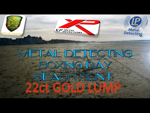 Metal Detecting The Beach 22ct GOLD with the Xp Deus Metal Detector
