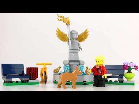 Vidéo LEGO Creator 40221 : La fontaine