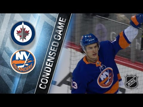 Winnipeg Jets vs New York Islanders - Dec.23, 2017 | Game Highlights | NHL 2017/18. Обзор матча