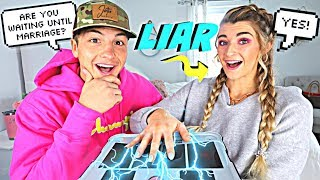ENGAGED COUPLE TAKES LIE DETECTOR TEST! *GONE WRONG*